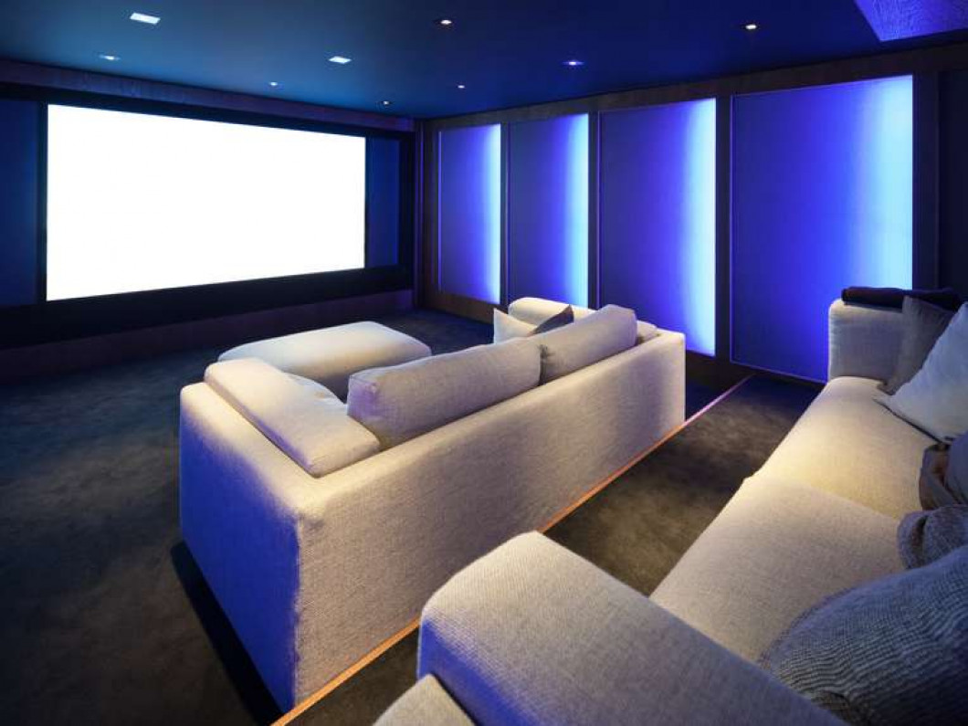 Watch movies in your home theater